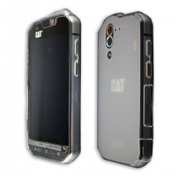 Case CAT S60, TPU-Case in clear + Screen Protector