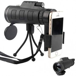 Telescope Monocular Scope-40x60 Dual Focus Waterproof