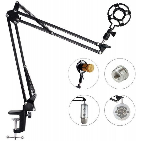 Eastshining Upgraded Adjustable Microphone Suspension Boom