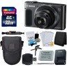 Canon PowerShot SX620 HS Digital Camera (Black) with accesories