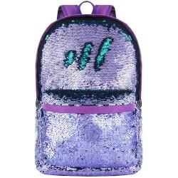 Reversible Sequin Backpack for School Bookbag for Girls