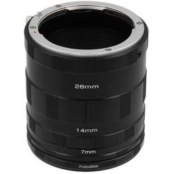 Macro Extension Tube Set Kit for Extreme Close-up, fits Nikon D1