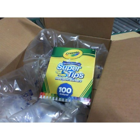 Crayola Super Tips Washable Markers, Gift Age 3+ - 100
