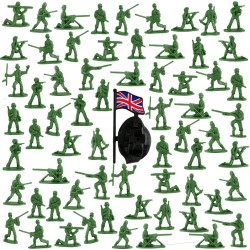 200 Count Toy Soldiers Soldier Toy Army