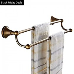 "24"" Bath Towel Rack Holder Bathroom Hardware"