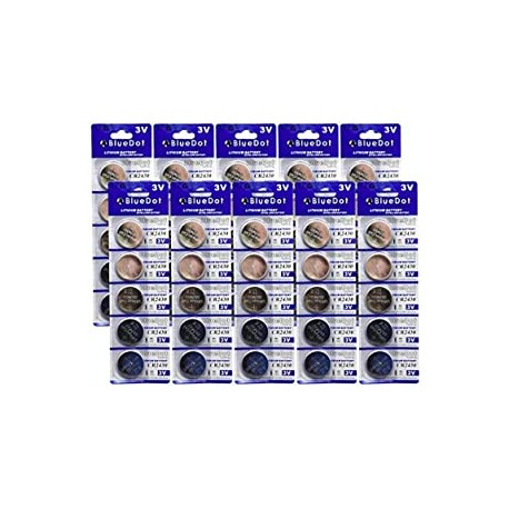 CR2430 Lithium Cell Battery, 50 Count