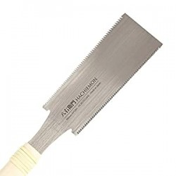 Japanese Ryoba Pull Saw Double Edge Hand Saw 180mm (7 Inch)