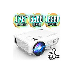 6500Lumens Portable Projector for Home Theater Entertainment
