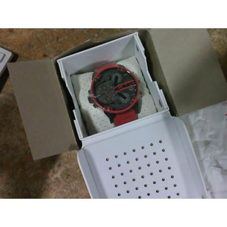 Diesel Mr. Daddy 2.0 DZ7370 Red Chronograph Dial Men's Watch