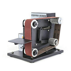 Mini Electric Belt Sander Portable Machine 8000rpm Grinder