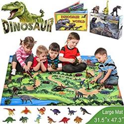 Dinosaur Toys, 21 PCS Realistic Dinosaur Figures