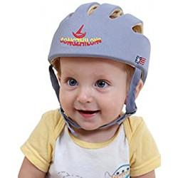 HI9 Infant Protective Hat Baby Toddler Safety Adjustable Helmet