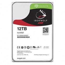 Seagate 12TB IronWolf NAS SATA 6Gb/s NCQ 256MB Cache 3.5-Inch Internal Hard Drive (ST12000VN0007)